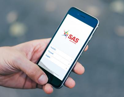 iOS app  for Sas.am internet-shop