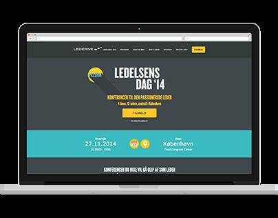 Webdesign - Ledelsensdag.dk