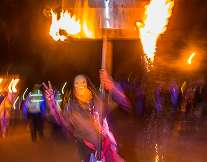 Flambeaux of Mardi Gras 2014