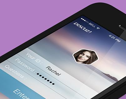 app design discuz
