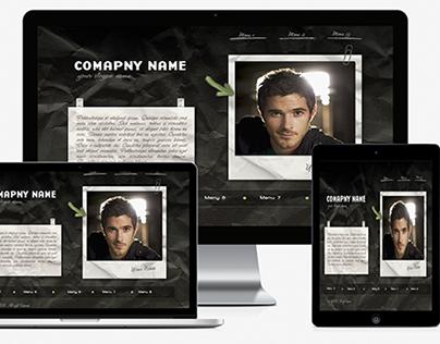 Personal Web Information theme