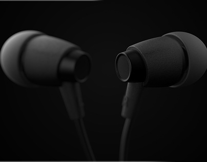 Earbud Product visualization