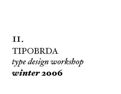 11th Tipobrda workshop . 2006