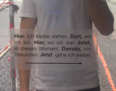 Meet Your Past - Video Installation project - Munich