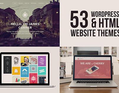 Mega Bundle: 53 Website Themes