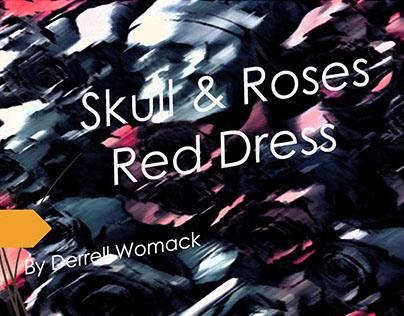 Skull & Roses PhilaU Red Dress