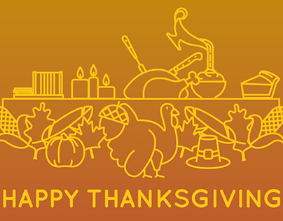 Free Thanksgiving Icons + Font