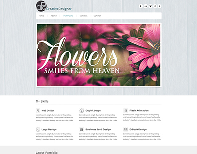 Creative Design WebPage