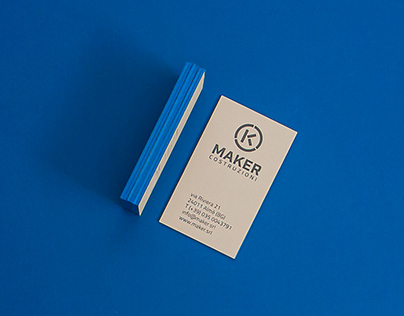 MAKER - logo and brand identity