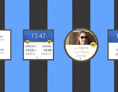 Android Wear public transport planner