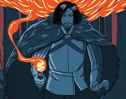 Personal Illustrations: Myth & Legend