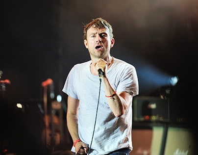 Blur at Пикник Афиши, 2013 Moscow
