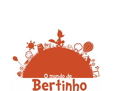 """O Mundo de Bertinho"" - Logotipo"