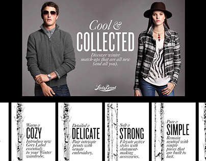 Lucky Brand - Instore Signage