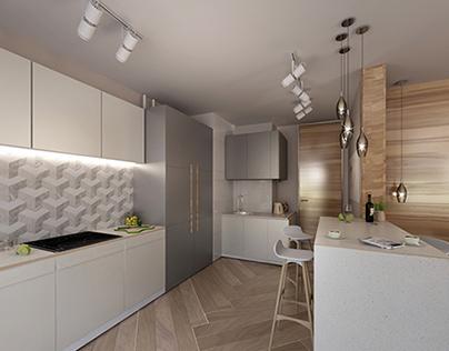 Проект квартиры в ЖК Западное Кунцево