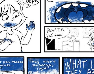Narrative Work (Illustrations, Comics)