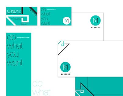 Brand Logo and Stationeries Design