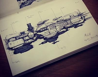 Pen sketches