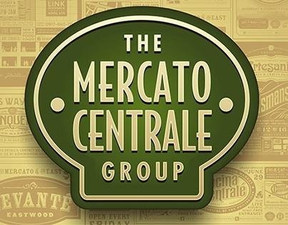 Mercato Centrale print ad & backdrop