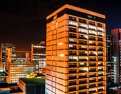 Urban Nairobi Nightscape