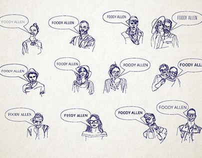 Sketches for Foody Allen