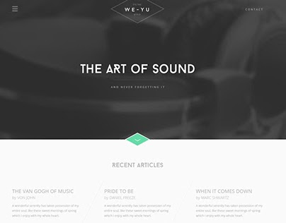 We-Yu Website Design