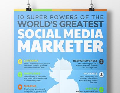 Social Media Marketer Infographic