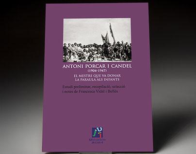 «Antoni Porcar i Candel». Book design.