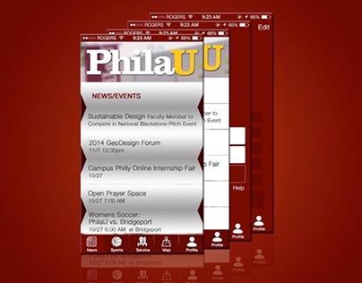 Philadelphia University Mobile App