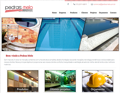 Website - Pedras Melo