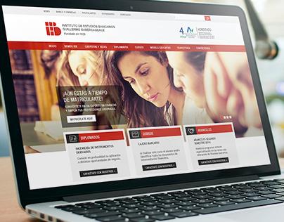 IEB / Nuevo Sitio Web