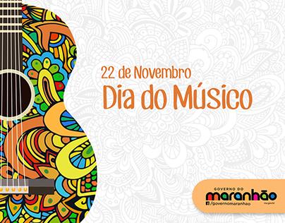 Governo do Maranhão - Dia do Músico