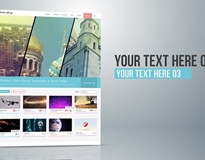 Elegant Website Display