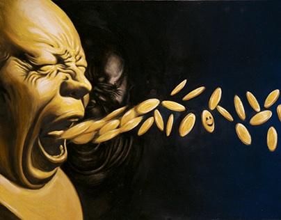 Golden Emotion - Artworks by Giuseppe Alletto