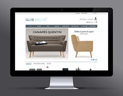 Glob Boutik - UX Design & Graphisme