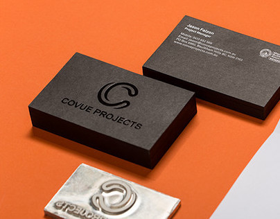 Covue Projects - Brand Identity