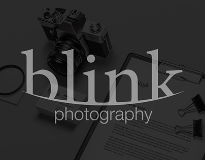 Blink photography logo