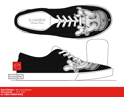 Shoes Design for Bucket feet