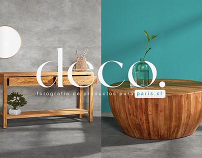 Proyecto muebles Paris.cl