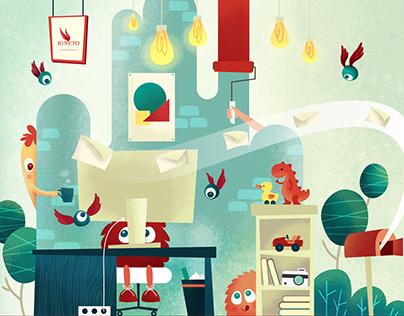 Illustration for KINETO