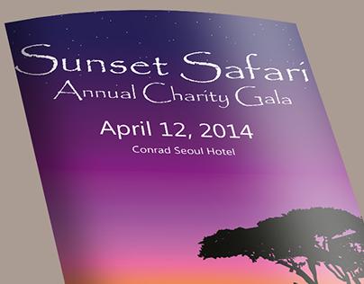 SIWA - Charity gala Sunset Safari