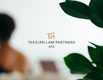 Terzian Law Partners Brand Identity