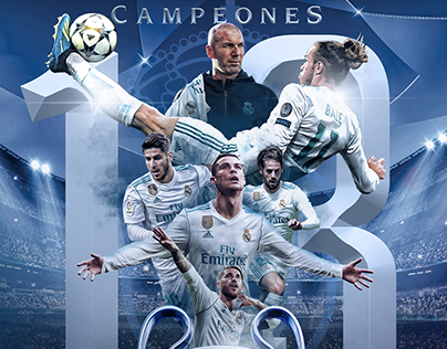UEFA Champions League 2018 Winners, Real Madrid