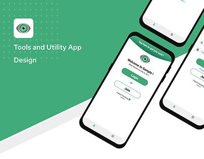 Shift a Tools & Utility app design