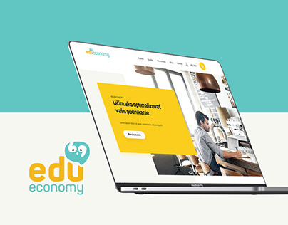 EduEconomy / web design / logo / print