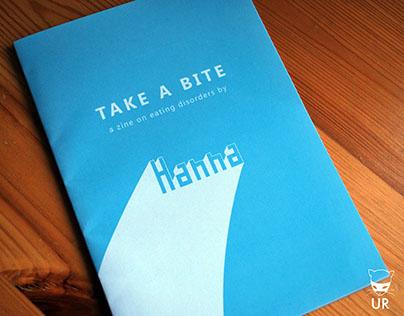 Zine Design, on Eating Disorders - Hanna Magazine