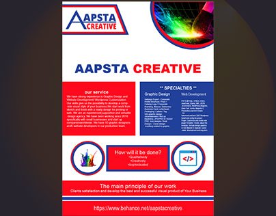 Aapsta Creative Flyer