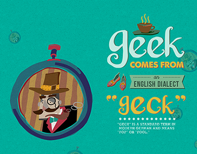 Geek comes from...