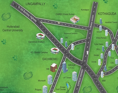 Location Map - Creative Visualisation