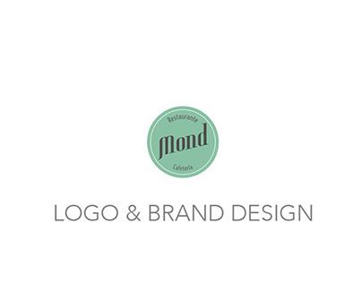 Logo & Brand Design · Restaurante Mond